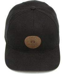 boné hang loose logo preto