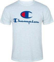 camiseta champion big logo script - branco g - masculino