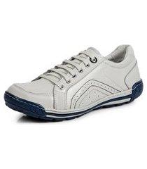 sapatênis tênis linha conforto doctor flex - 3009 branco