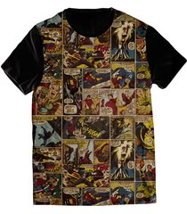 camiseta elephunk estampada geek marvelous preta - kanui