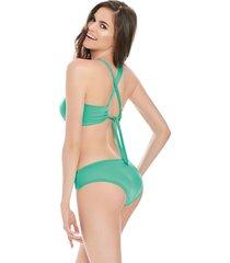 traje de baño bikini verde menta 30 formas intimas