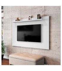 painel para tv até 50 pol móveis bechara kenzo branco