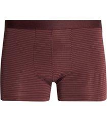 boxer lineas microfibras color vino, talla s