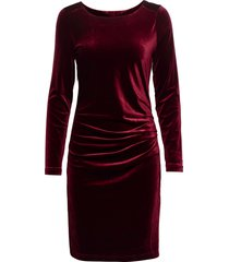kelly dress kort klänning röd kaffe
