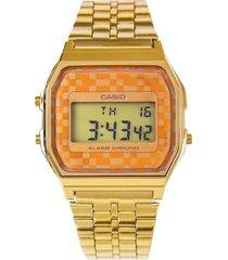 reloj casio a-159wgea-9a digital 100% original-cafe