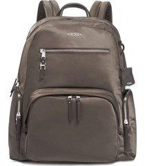tumi carson multi-pocket backpack - grey
