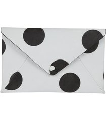 maison margiela polka dot french wallet