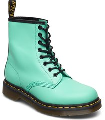 1460 peppermint green smooth shoes boots ankle boots ankle boot - flat grön dr. martens