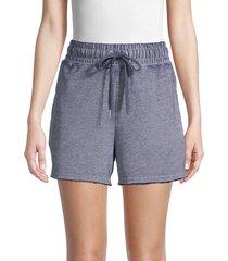 c & c california women's french terry shorts - peacoat - size m