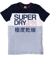 superdry stevig zacht slim fit t-shirt - valt 1 maat kleiner