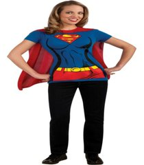buy seasons women's supergirl t-shirt costume kit