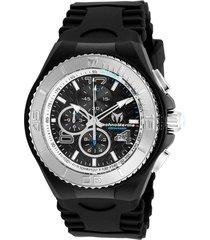 reloj technomarine tm-115110 negro silicona