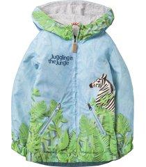 oilily zomerjas cebra voor jongens turquoise- blauw