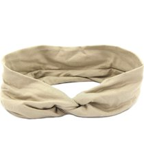 headband turbante bijoulux nude