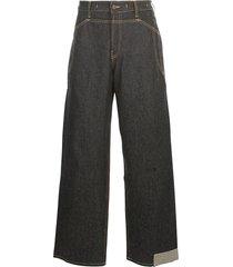 jacquemus grano wide leg jeans