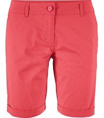 bermuda elasticizzati (rosso) - bpc bonprix collection