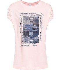 maglia stampata (rosa) - rainbow