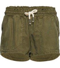 linen utility short shorts flowy shorts/casual shorts grön superdry