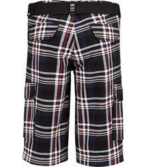 shorts men plus röd::svart::marinblå