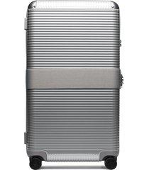fpm milano trunk on wheels suitcase - grey