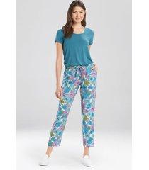 boheme- wanderlust pants pajamas / sleepwear / loungewear, women's, purple, size l, josie