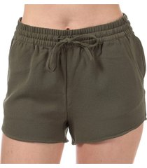 only womens turner shorts size 10 in green