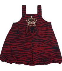 vestido victoria augusto zebra vermelho