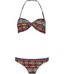 shiwi bikini bandeau etnic flame