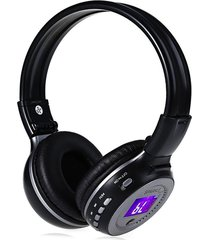auricular bluetooth zealot audifonos hi-fi soporte radio fm