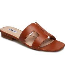 loupe shoes summer shoes flat sandals brun dune london