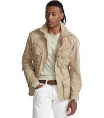 polo ralph lauren men's twill field jacket