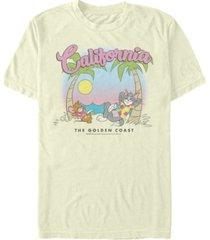 men's tom jerry california short sleeve t-shirt