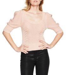 bcbgeneration puff-sleeve sweater