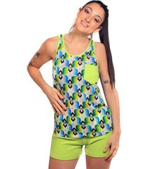 conjunto verde  clon pijama1