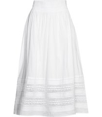 beninapw sk knälång kjol vit part two