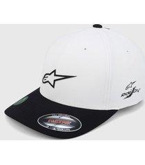 gorra blanco-negro alpinestars neo ageless