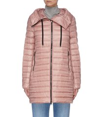 'rubis' hooded puffer coat