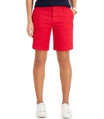 tommy hilfiger printed hollywood shorts