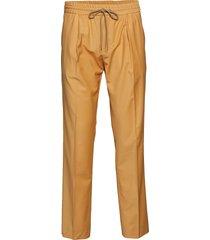 neal drawstring - butterscotch casual byxor vardsgsbyxor gul martin asbjørn