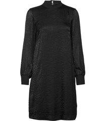 dresses knitted knälång klänning svart esprit collection