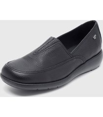 zapato casual plano negro 16hrs