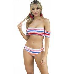 vestido de baño-rojo-providencia beach clothes