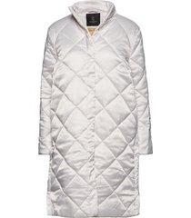ava lulu coat gevoerde lange jas wit bruuns bazaar