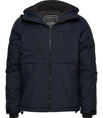 aeon padded jacket fodrad jacka blå superdry
