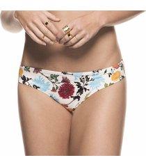 panty de vestido de baño femenino estampado floral kibys