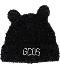 gcds fluffy ears beanie