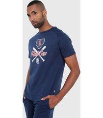 camiseta azul-blanco-rojo mlb new york yankees