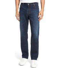 ag everett slim straight leg jeans, size 33 x 36 in witness at nordstrom