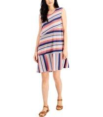 jpr studio striped tank dress