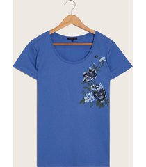 camiseta azul azul 8